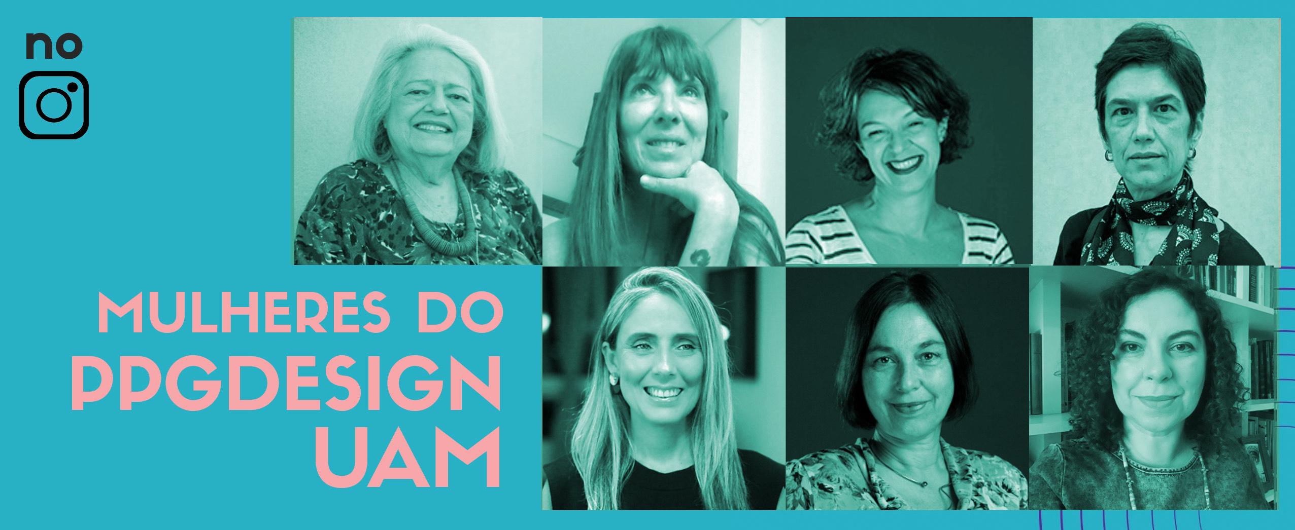 Mulheres do PPG Design