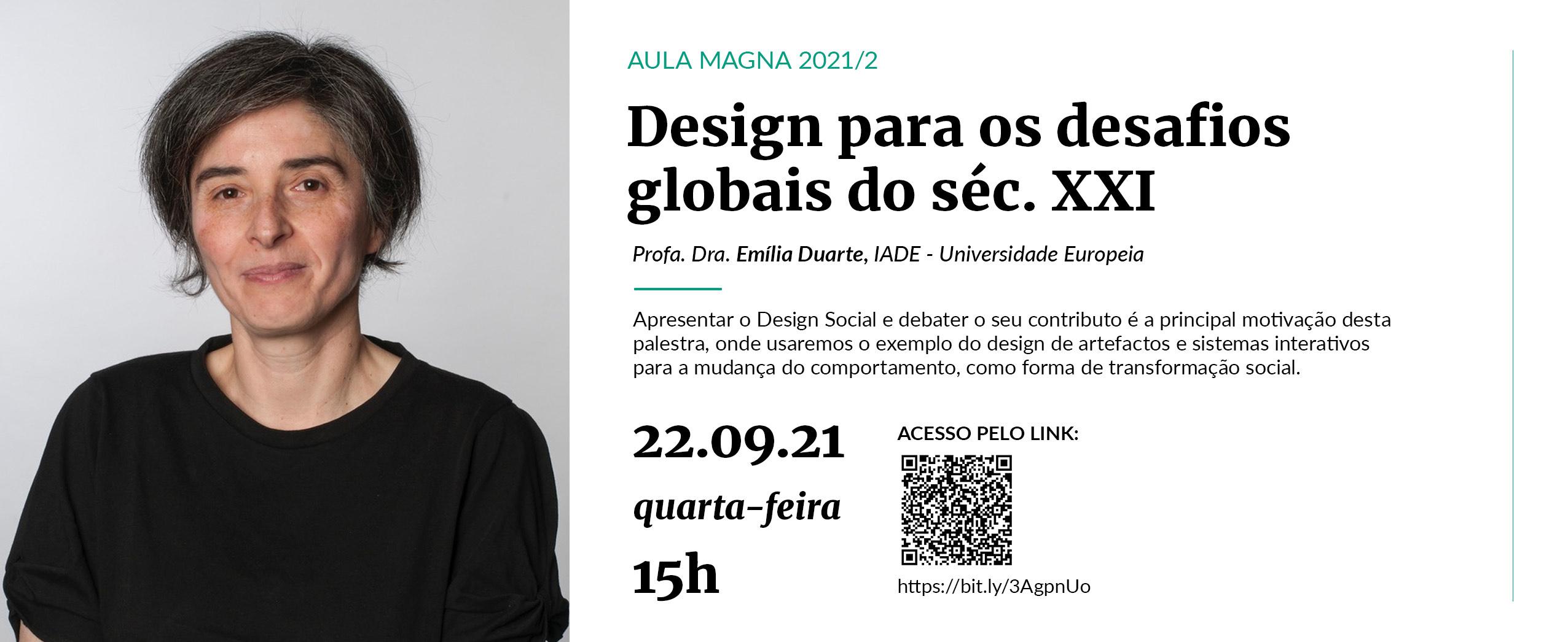 Design para os desafios globais do séc. XXI