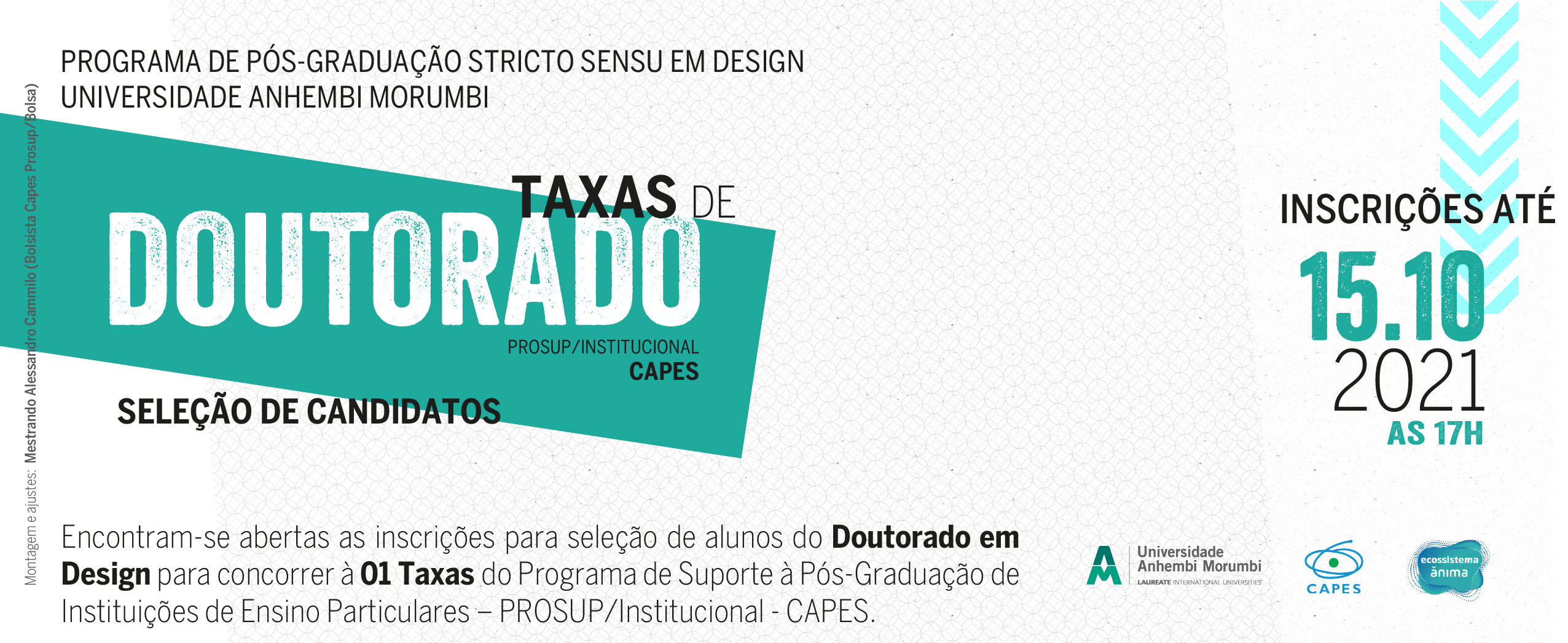 Banner Doutorado Taxa